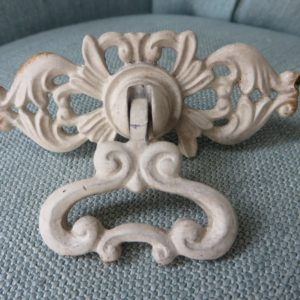 white_ornate_drawer_pull_the_gaiety_antique_and_vintage_store