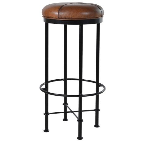 eur046_evan_light_brown_bar_stool_the_gaiety_antique_and_vintage_store